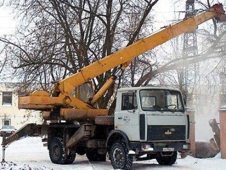 Кран «МАЗ» КС3577А